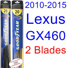 lexus gx evolution amazon com 2010 2015 lexus gx460 replacement wiper blade set kit