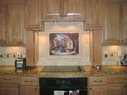 How To Install Ceramic Tile Backsplash In Kitchen Kitchen Design Backsplash Tile Mural Archway To Venice Item