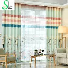 Blue And Yellow Kitchen Curtains by Popular Baby Blue Curtains Buy Cheap Baby Blue Curtains Lots From