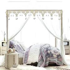 White Canopy Bed Curtains Canopy Bedroom Curtains Decorating Canopy Curtains For Bed Bedroom