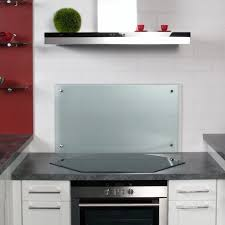 spritzschutz küche küchenrückwand spritzschutz aus klarglas hxbxt 400x1100x6mm