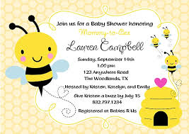 bee baby shower bumble bee baby shower invitations baby shower