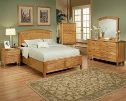 bedroom set in light oak finish firefly county ayca ay 22 02set