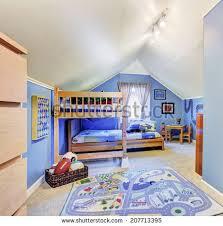 Kids Bunk Beds Stock Images RoyaltyFree Images  Vectors - Kids room with bunk bed