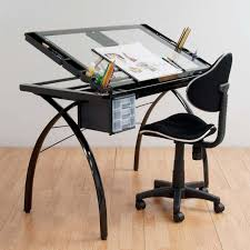 Drafting Table Glass Futura Drafting Table With Glass Top Petagadget