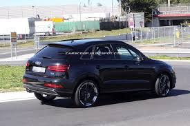 audi q3 modified hotted up audi q3 s rs with 2 5 liter turbo takes to