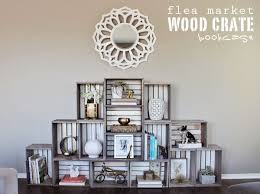 Wooden Crate Bookshelf Diy by 72 Best Bookcases U0026 Shelves Images On Pinterest Bookcases Home