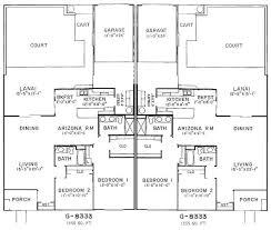 duplex floor plans with garage sun city west floorplans duplex and garden apartment
