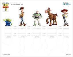 printable toy story characters pictures pin