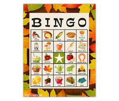 fall festival bingo cards and other free bingo printables from