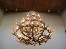 Antlers Lighting Chandelier Making Deer Antler Chandelier Magnificent Lighting Design