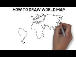 how to draw a map how to draw map