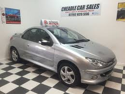 peugeot sports car price used peugeot 206 convertible for sale motors co uk