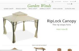 Garden Winds Replacement Swing Canopy by Garden Winds Rated 4 5 Stars By 16 340 Consumers Gardenwinds Com