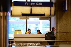 waste of after deregulation ute yellow city cabs steer