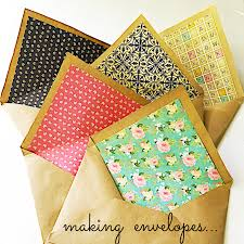 how to make your own envelope the lost art of letter writing revived making envelopes