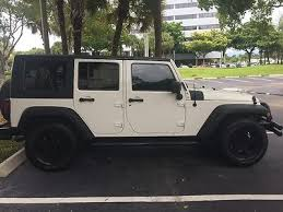 stormtrooper jeep wrangler jeep wrangler unlimited hardtop 4 door stormtrooper white used