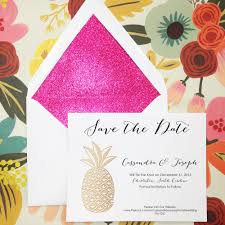 save the dates pink champagne paper invitations u0026 stationery