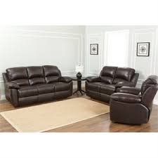 abbyson living bradford faux leather reclining sofa abbyson living recliners