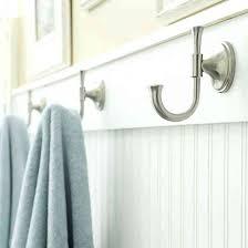 bathroom towel hook ideas mesmerizing bathroom towel hooks small bath remodels towel hooks