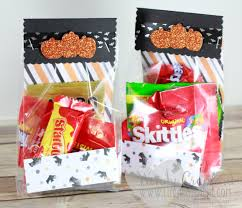 simple halloween treat goody bag luvin stampin