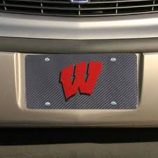michigan state alumni license plate frame wisconsin badgers license plates of wisconsin license