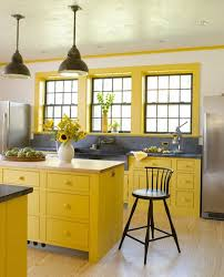 kitchen yellow kitchen wall colors how to decorate the kitchen using yellow accents