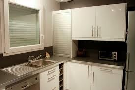 meuble de cuisine sur mesure meuble cuisine noir pas cher mobilier design décoration d intérieur