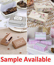 wedding cake boxes for guests cake slice boxes home furniture diy ebay