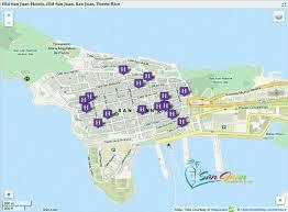 san juan map san juan hotels map maps
