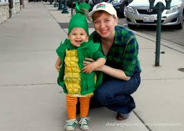 Corn Halloween Costume Loved Larking Corny Family Diy Upcycled