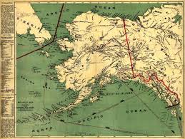 Alaska Map Images by Gold Rush Map