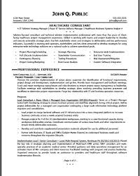 It Consultant Resume 20 Sample Consultant Resume 8 Career Objective Sample For