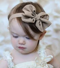 baby girl hair bows baby hair bow bandeau newborn chiffon bowknot headbands