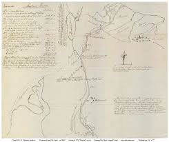 old maps of the cape cod canal 1776 mackin