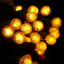 Amber Christmas Lights Round Yellow Led Christmas Lights