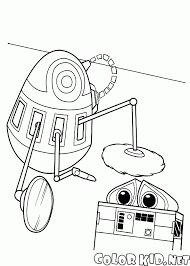 walle coloring pages coloring page robot and wall e