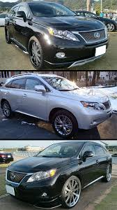 amazon com 2010 2015 lexus rx350 rx450h vip clip on smoke tinted