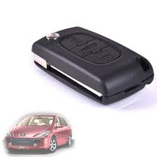 peugeot 307 new cark010 peugeot 307 cc convertible 2 or 3 button new key fob