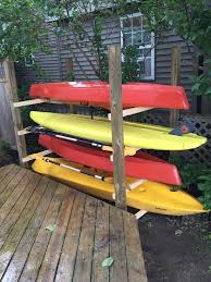 Wooden Kayak Storage Rack Plans by 7 Best Lake Images On Pinterest