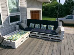 Pallet Patio Furniture Ideas by Best Diy Pallet Deck Ideas