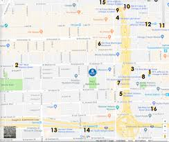 Chicago Il Map Directions Merit Of Music