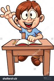 Kid At Desk by School Boy Clipart Explore Pictures