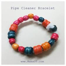 easy bracelet images Easy pipe cleaner bracelet for kids mama ot jpg