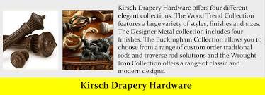 Kirsch Drapery Hardware Parts Kirsch Jpg