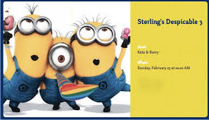 diy minion invitations colors free printable minion template together with minion photo