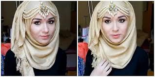 tutorial hijab nabiilabee tutorial hijab untuk hari raya ala nabiilabee vemale com