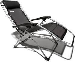 Zero Gravity Outdoor Chair Furniture Zero Gravity Chair In Black With Adjustable Detachable