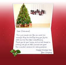 Holiday Business Cards Christmas Ecards For Business Electronic Xmas Holiday Cards