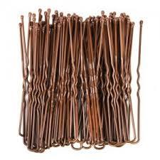 bun pins brown bun bobby pins 72 pack polyvore